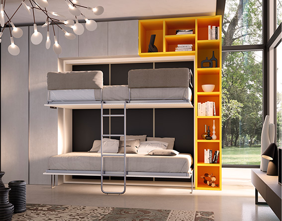 lits modulables superposés horizontal OPTIM2